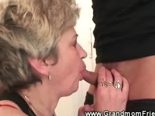 sexy granny sucks jock worthwhile and deep