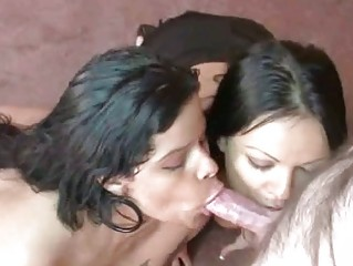 lalin girl angel swapping a cock with aged slut
