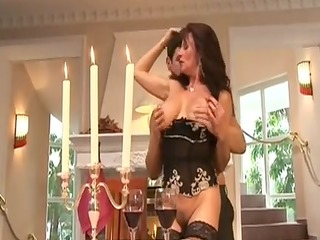 older doxy team-fucked by rich chap