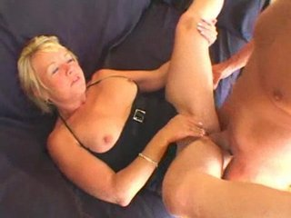blond older nails lad toy!