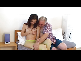 diminutive tittted angel acquires fucked by
