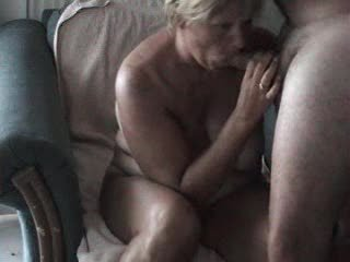 mature wife sucks