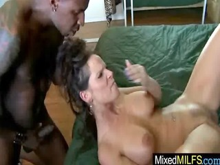 wicked milfs get drilled by darksome schlongs