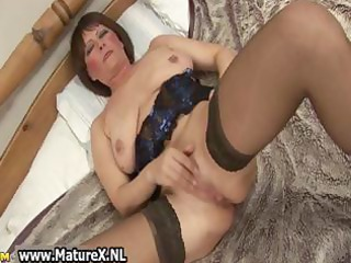 obscene old mama in sexy underware fucking part9