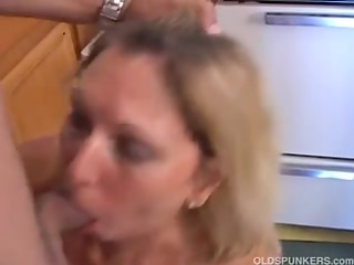 charming mature lady is hungry for rod