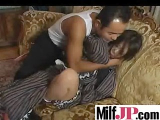 asians hawt milfs acquire hard gangbanged clip-95