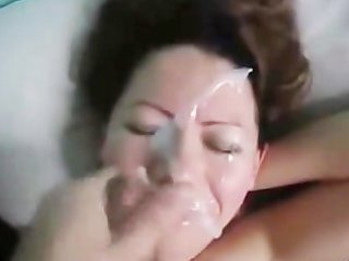 wife acquires a nice facial