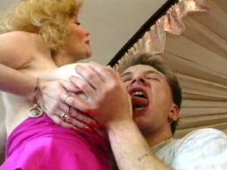 hawt german breasty blond granny cougar