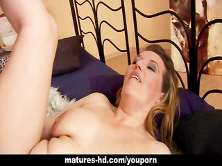 perverted older playgirl drilled from behind