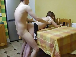 doggy style with corpulent wife