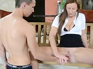 jerk off herself off - erotic female domination