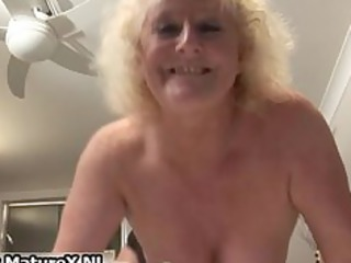 bulky older housewife is slutty and plays part3