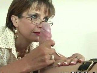 mature femdom servitude fetish blowjob