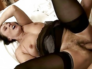 hawt hairy granny getting drilled glamorous hard
