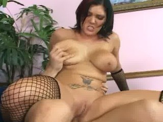 large boobed milf anal and deepthroat in fencenet