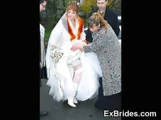 real naughty youthful brides!