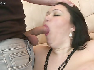 large titted mother enjoying a young dong