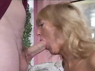hot granny curvy blonde rheina shine mature aged