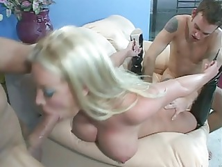 bridgette kerkove rough double anal