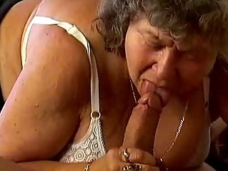 breasty granny is deeply fucked