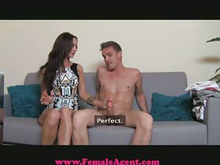 femaleagent - d like to fuck exploits shy chap in