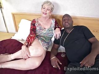breasty granny in creampie video