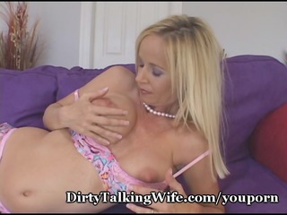 hot milf plays immodest