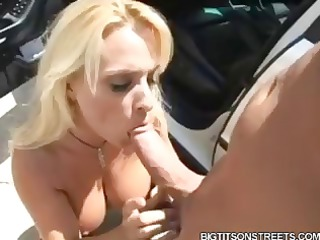 breasty blonde holly halston brings home the