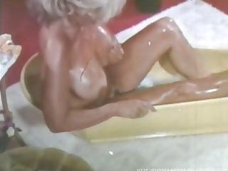 candy samples - vintage bathtub scene.