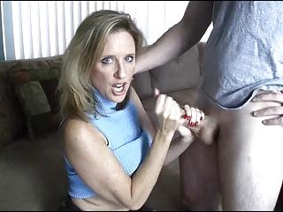 mama gives handjob toyoung chap