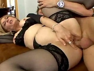 stocking clad mother i can spreading her legs for