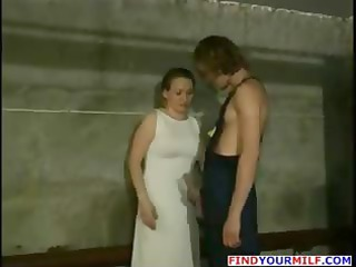 sexy russian milf acquire her face jizzed