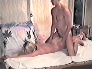 blond in dilettante homemade bdsm tape
