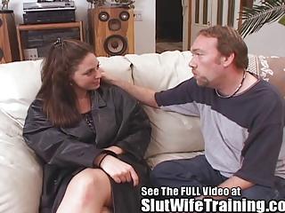 rebecca receives dirty ds floozy wife cum tasting