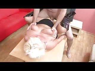 blonde big hangers bbw-granny hard screwed
