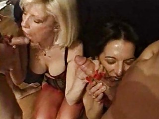 foursome fucking joy with hawt and bushy mother i