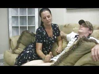 staceys mama - veronica cfnm tugjob