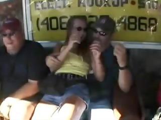 matures get undressed in public