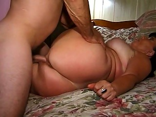 the granny get hard rammed into