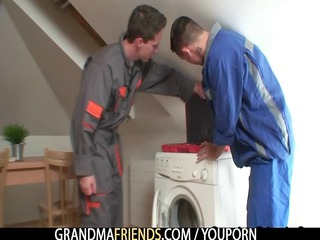 wicked granny pleases repairmen