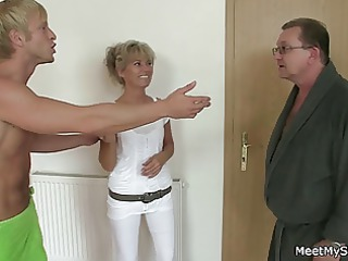 sexually excited mama and daddy copulates their