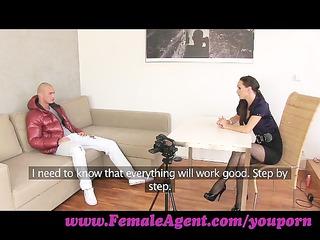 femaleagent. gorgoeus guy in mind blowing casting