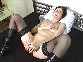 d like to fuck gets off on large red sex-toy !