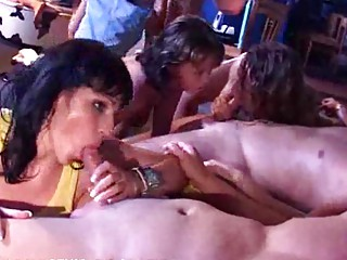 milfs sisters daughters fuck at a sex party