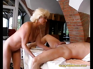 insane old mama hard fuck sex and large blowjob