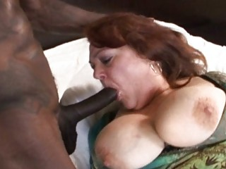 older mature with large melons acquires