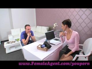 femaleagent. milf seduces hesitant chap