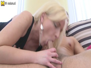 indecent blond mother id like to fuck sucks and