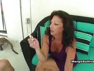 sexy mature margo smokin sex
