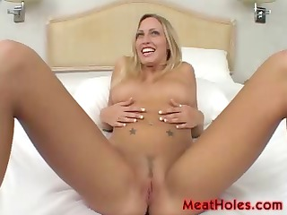 blond cassie youthful plays with old dicks